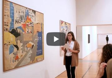 As Escolhas dos Críticos: Jacques Villeglé por Sofia Nunes | #MCB_Online