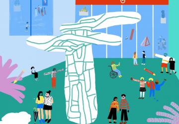 Atividade para famílias | Uma família em movimento pelo Dadaísmo
